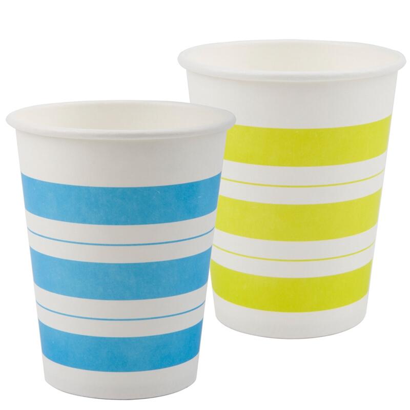得力(deli) 9560纸杯加厚型一次性水杯/纸杯250ml 50个/袋