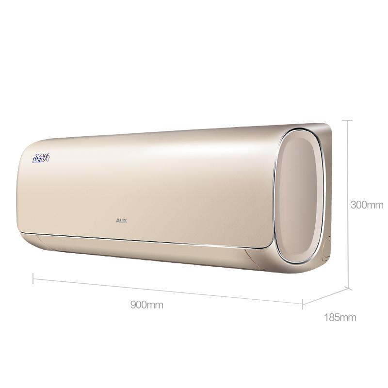 奥克斯 (AUX) 正1.5匹 一级能效 变频冷暖 黄金侠空调挂机 (KFR-35GW/BpTYC1+1)
