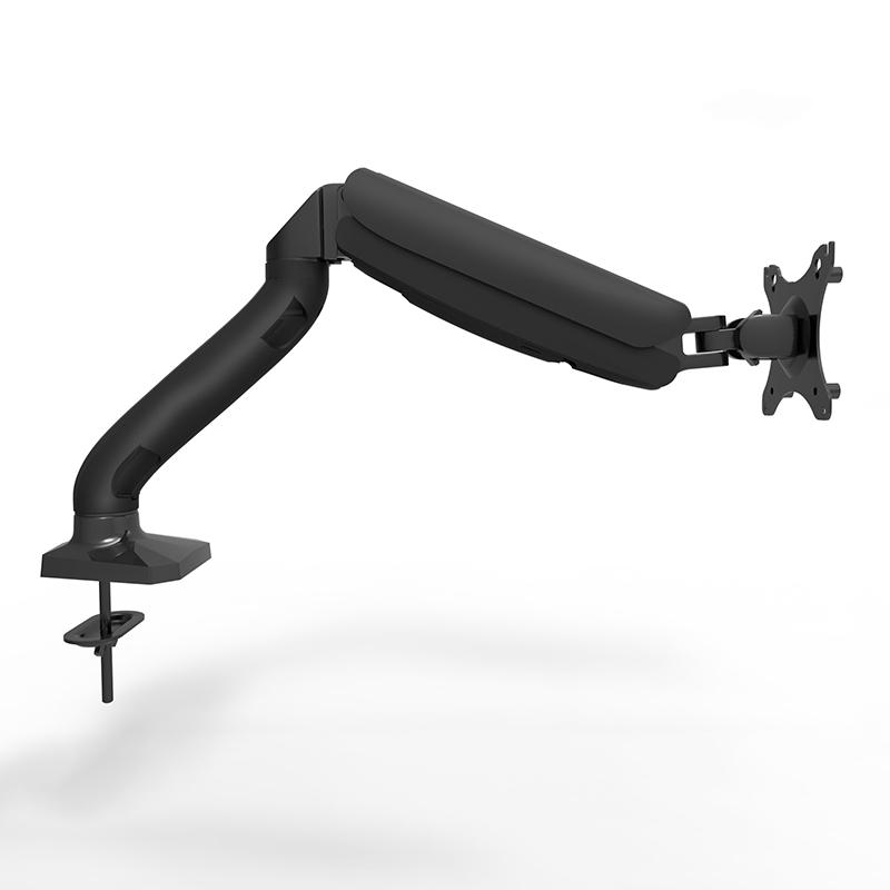 倍方显示器手臂支架 液晶电脑桌面支架显示屏升降多功能旋转架 10-30英寸 黑色