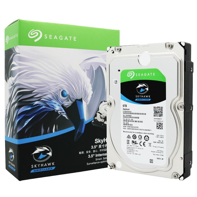 希捷(SEAGATE) 酷鹰6TB SATA3.5