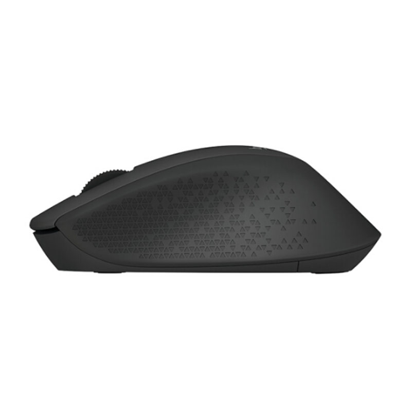 罗技(Logitech)M275(M280)无线鼠标 舒适曲线 黑色