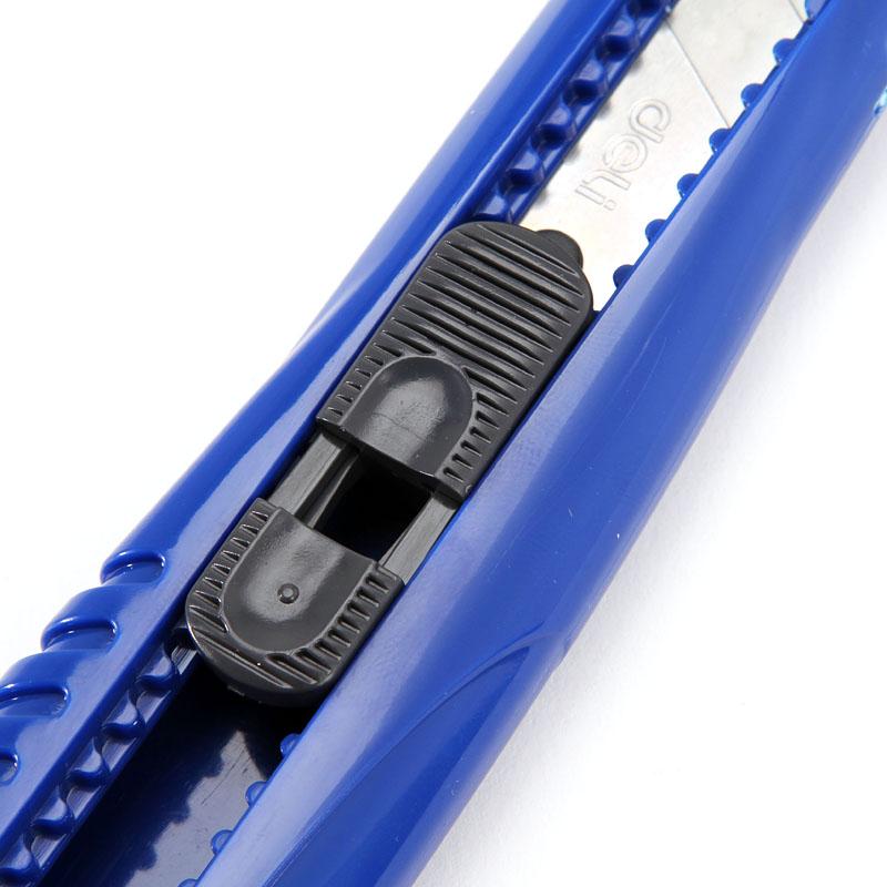 得力 办公文具2004大号美工刀 便携学生手工刀壁纸刀带刀片裁纸刀