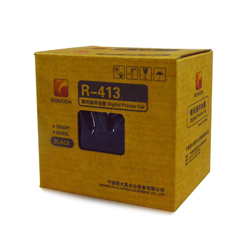 荣大R-413油墨  1支  VR-231B/VR- 4345/VR-2335/VR-3325