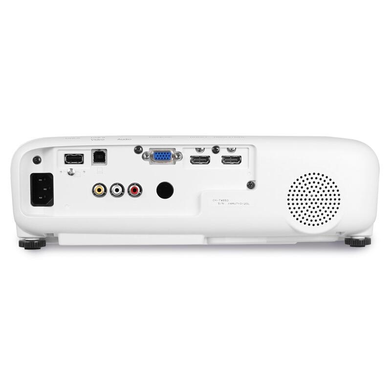 爱普生(EPSON)CH-TW650投影仪 1080P高清投影机 家用投影 官配