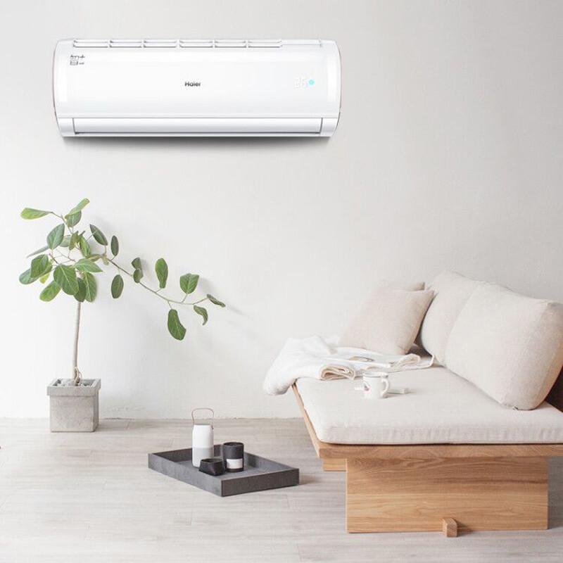 海尔(Haier)空调定速壁挂机智能冷暖家用 1.5匹  KFR-35GW/16GNA13U1