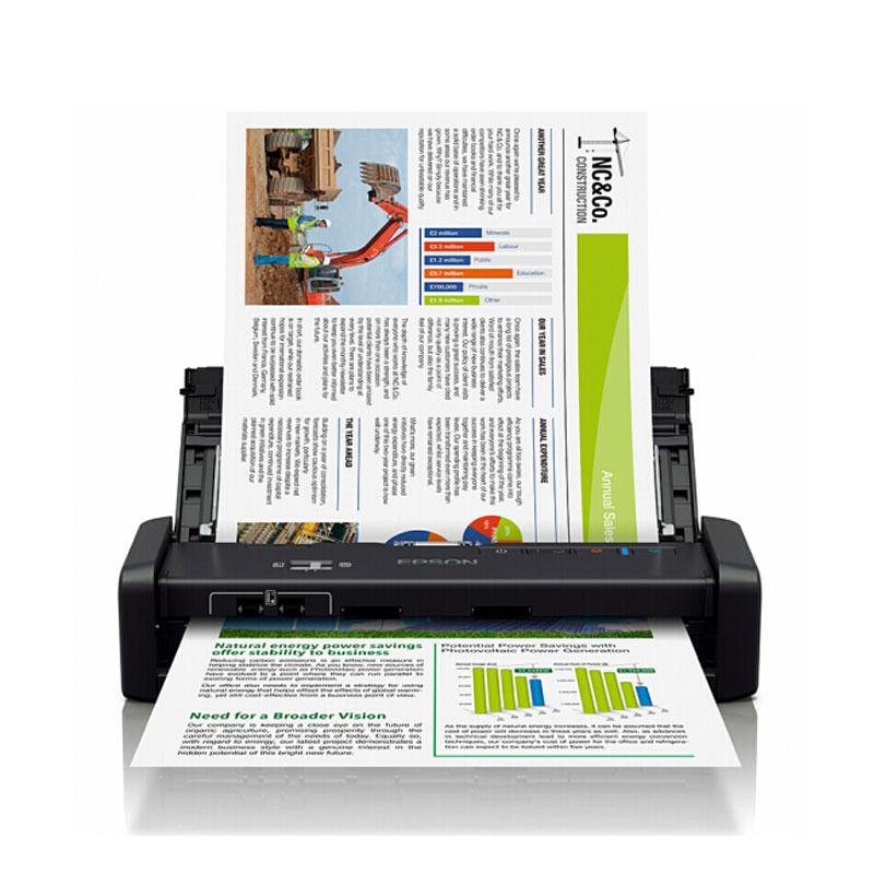 爱普生(EPSON) Epson DS-360W 紧凑型A4馈纸式扫描仪