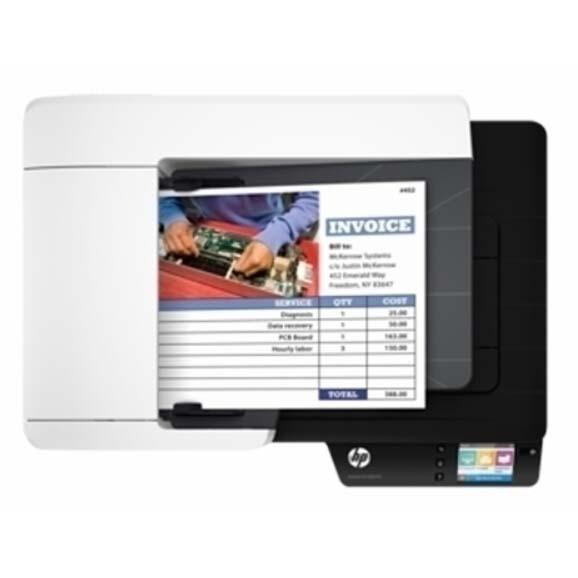 惠普4500f1网络扫描仪平板+馈纸式