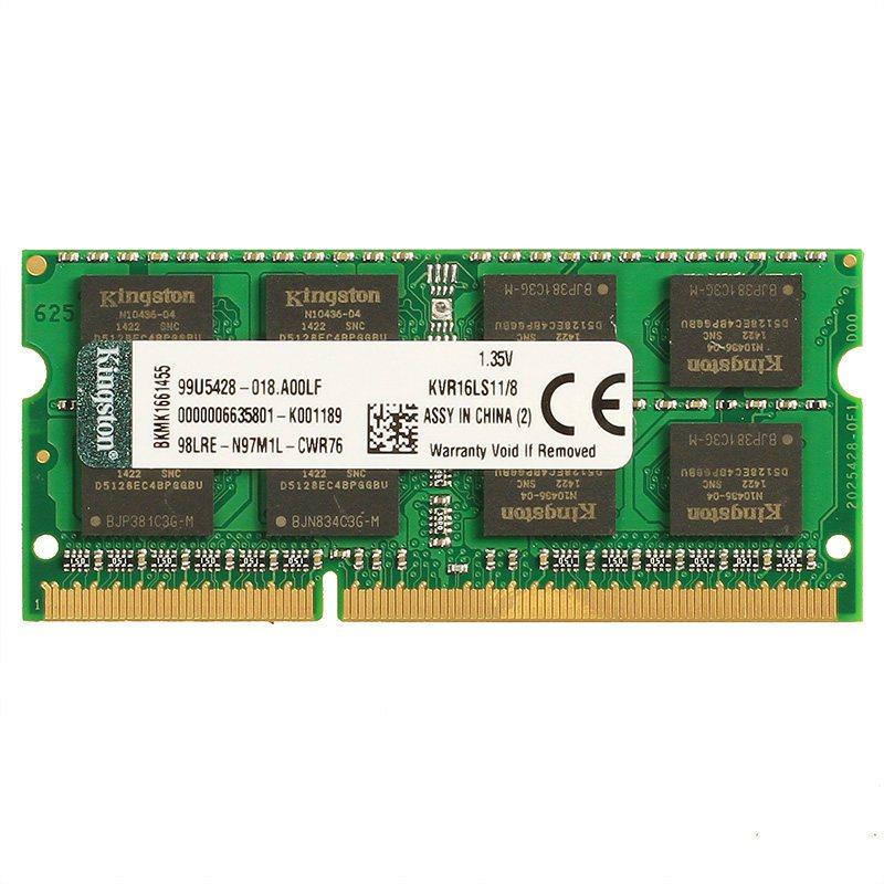 金士顿 (Kingston) DDR3 1600 8GB 笔记本电脑内存条