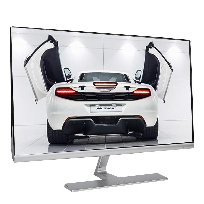 优派 27英寸显示器 60HZ办公窄边框全面屏电脑游戏pls色彩显示器