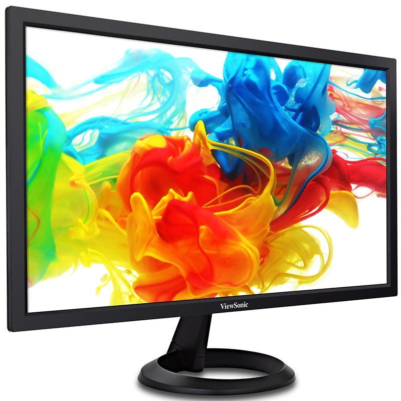 优派23.8英寸电脑显示器 VA2461 家用办公台式机游戏液晶显示屏 高清VA屏幕