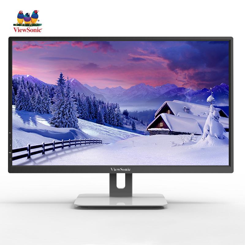 优派 (ViewSonic) 21.5英寸 轻薄LED背光 不闪屏爱眼显示器