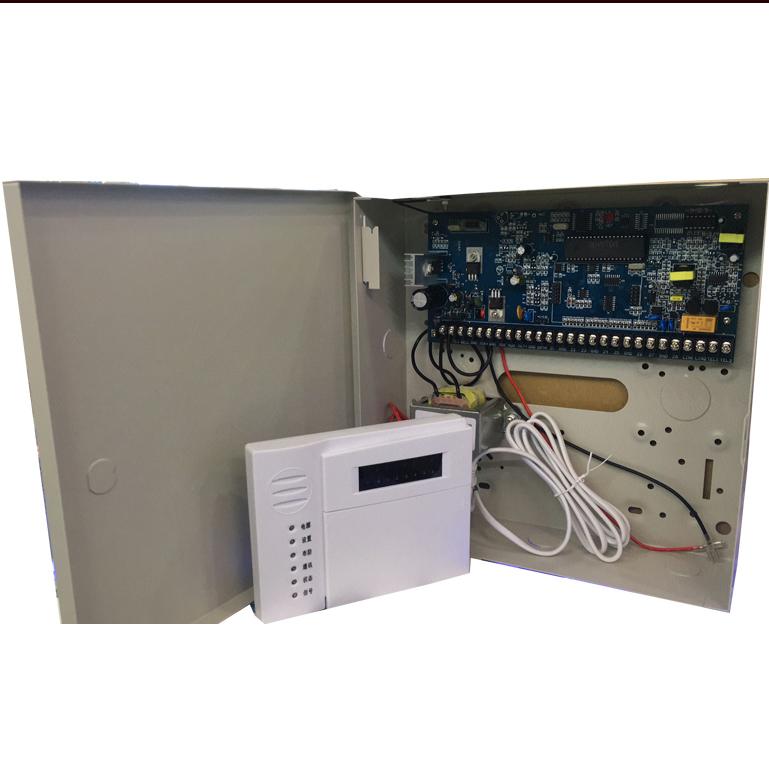 安警108d 8路主机报警器 铁皮盒报警器 专用报警器主机