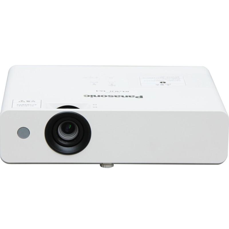松下(Panasonic)PT-X316C投影仪办公投影机 1024*768分辨率31投影机 +翻页笔+10m HDMI高清线+120英寸电动幕布
