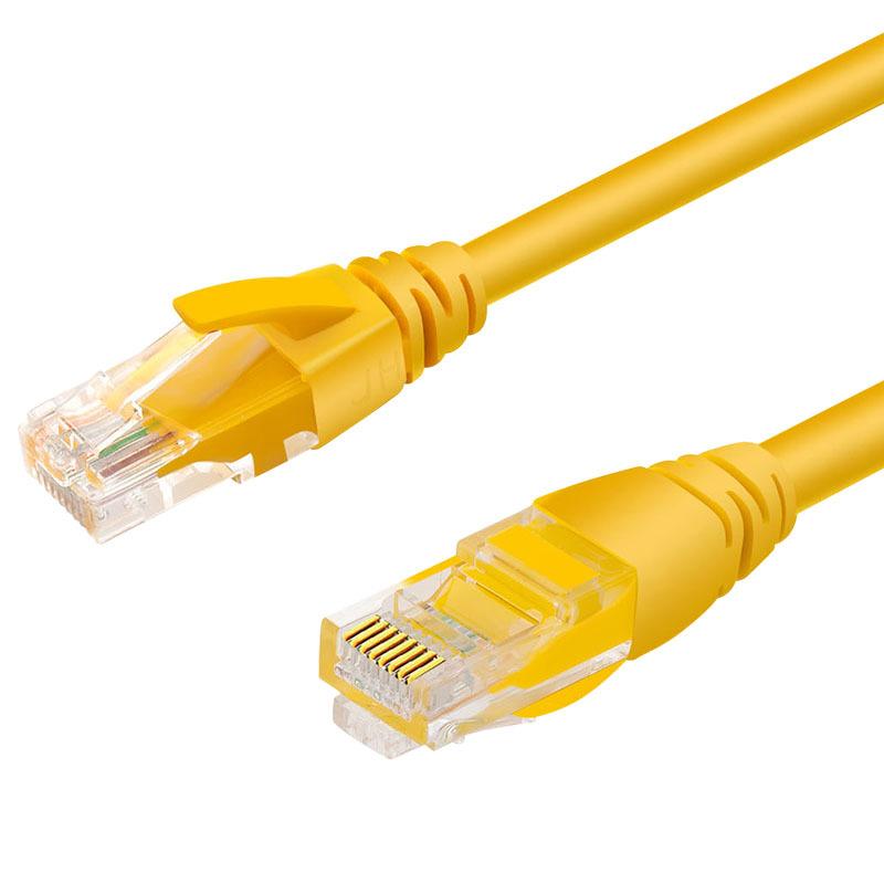 JH晶华 高速超五类网络跳线 路由器网线 室内外网线 1m