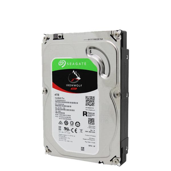 希捷4t机械硬盘台式机电脑机械盘4tb sata硬盘 酷狼pro4tb NAS网络存储硬盘 ST4000NE0025