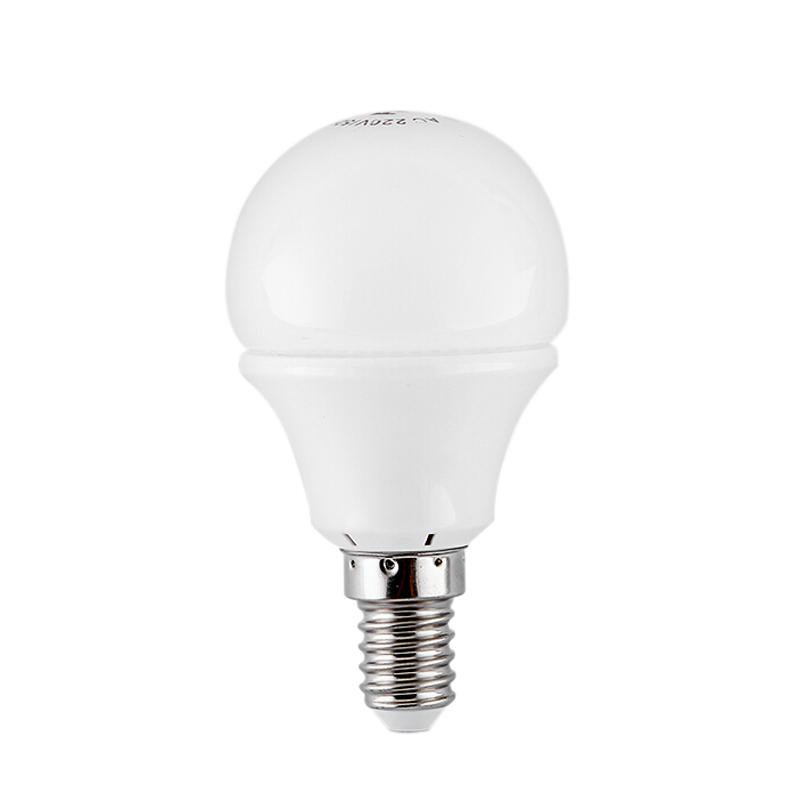 FSL佛山照明 LED灯泡 吊灯光泡 3W超亮节能家用球泡 白色水晶系列A50-E14螺口-3W-白光