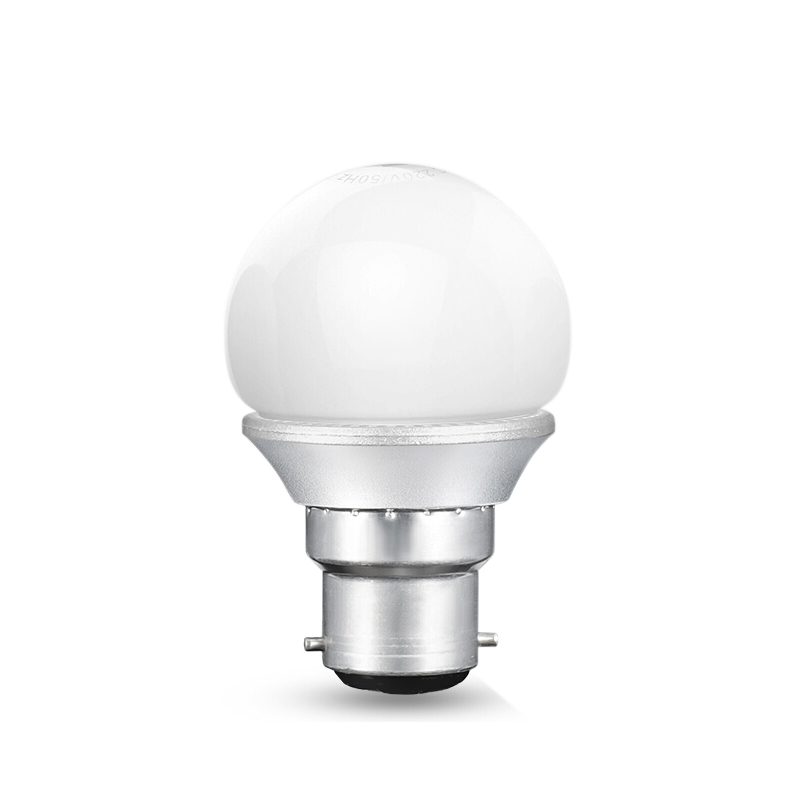 佛山照明 LED灯泡 环保节能灯 室内客厅吊灯球泡 铝基板透气防过热台灯光泡 超炫银/G45球泡/B22卡口/3W 日光白6500K