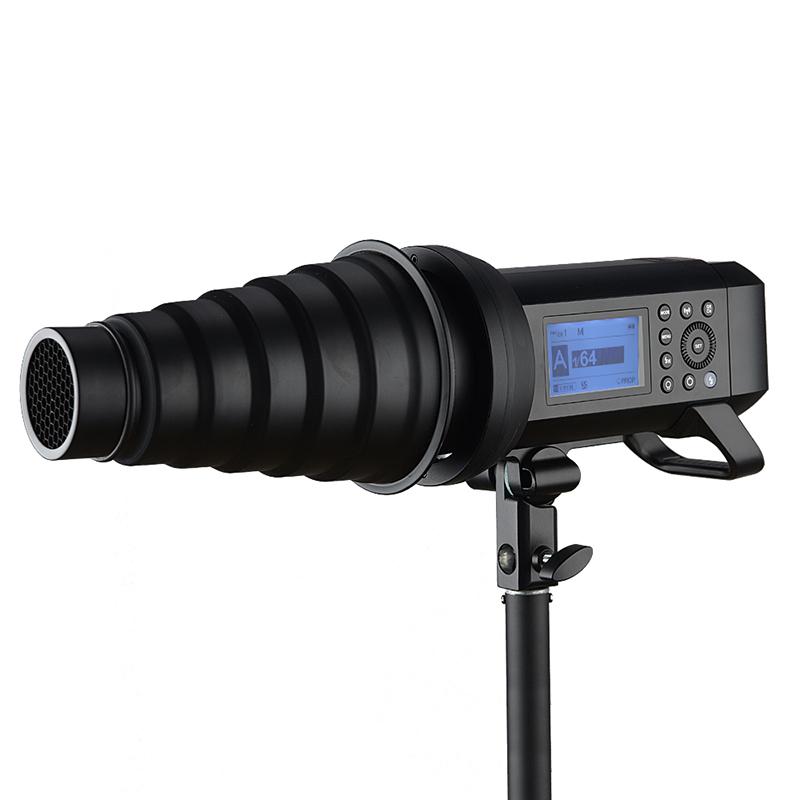 神牛(Godox)AD400Pro 外拍灯 闪光灯 影棚摄影灯 400W高速同步自动测光连拍 AD400-PRO