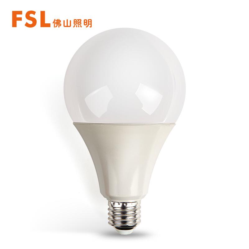 佛山照明(FSL)led灯泡大功率节能球泡18W大口E27日光色6500K