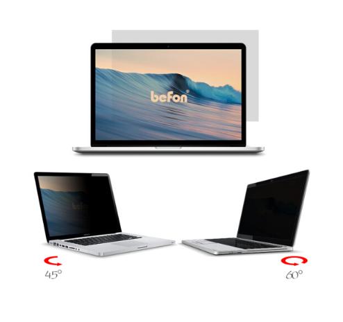 倍方 笔记本电脑防窥膜15.4英寸73416(16:10)332x208