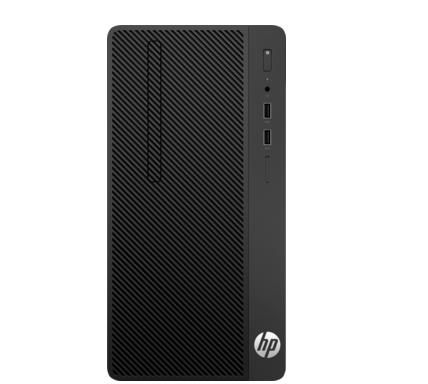 惠普(HP) 288G4 MT 商务台式主机i5-8500商用台式机主机  显示器 DVD刻录 4G内存 1T/2g独显