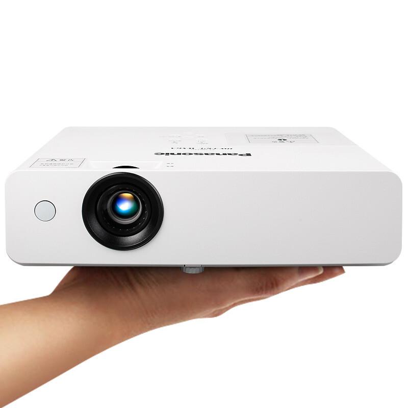 松下(Panasonic) PT-X336C投影仪PT-X332C升级投影机 官方标配+120英寸电动幕+吊架+10米VGA线+翻页笔