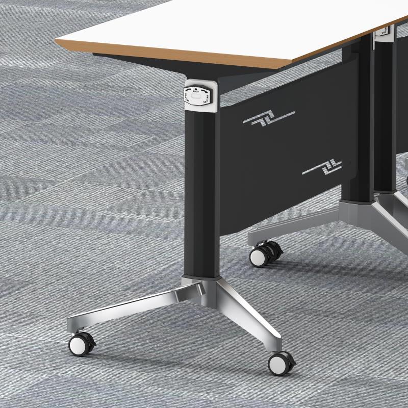 华鑫定制两用钢木复合条形会议桌