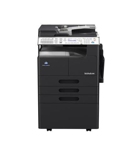 柯尼卡美能达bizhub266复合机黑白激光数码多功能A3复印机 (输稿器+工作台)