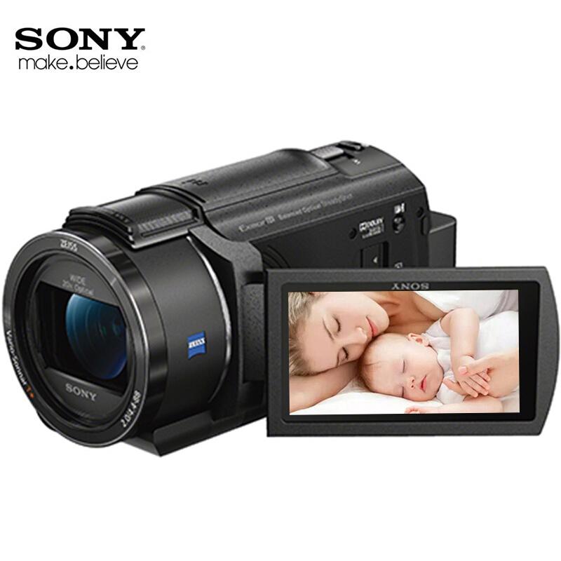 索尼(SONY) FDR-AX40 4K 高清数码摄像机 家用DV机 (内置64G内存) 单机身官方标配