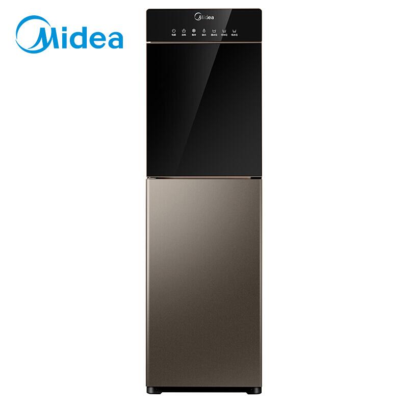 美的(Midea)饮水机下置式立式高端冷热型沸腾胆饮水机 下置水桶 自动上水 YD1316S-X