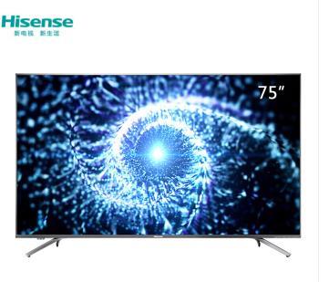 Hisense/海信 HZ75A65 4K超高清 HDR智能电视WIFI网络电视